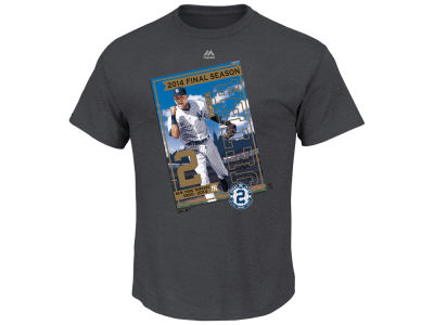 New York Yankees Derek Jeter Outerstuff MLB Youth Final Trading Card T-Shirt