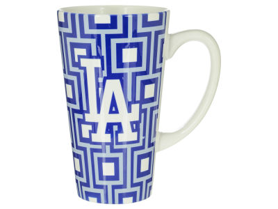 Los Angeles Dodgers Squares Latte Mug