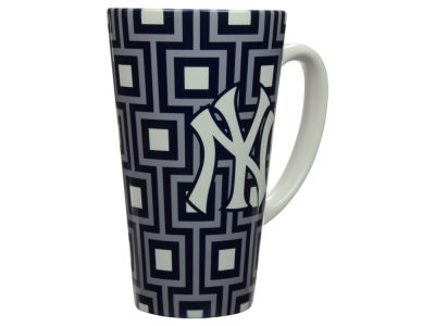 New York Yankees Squares Latte Mug