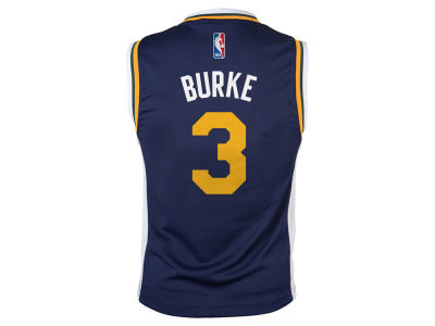 Utah Jazz Trey Burke NBA Youth Rev 30 Replica Jersey