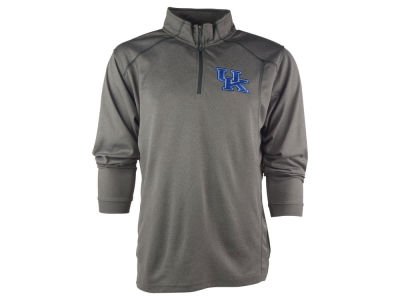 Kentucky Wildcats NCAA Men's Poly Mesh 1/4 Zip Pullover Shirt