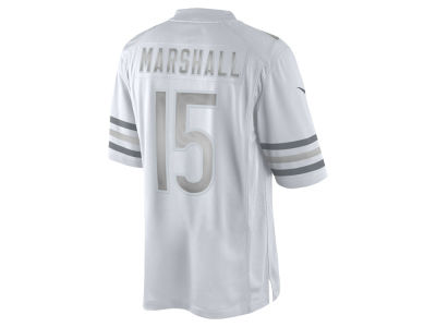 Chicago Bears Brandon Marshall Nike NFL Men's Platinum Jersey