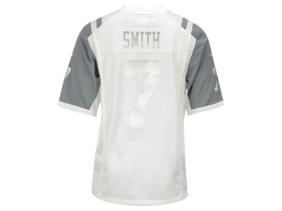 New York Jets Geno Smith Nike NFL Men's Platinum Jersey