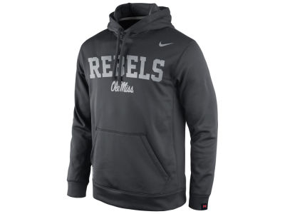 Ole Miss Rebels Nike NCAA Men's Platinum KO Hoodie