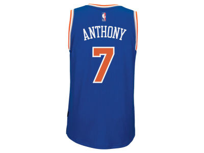New York Knicks Carmelo Anthony adidas NBA Men's New Swingman Jersey