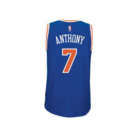 New York Knicks Carmelo Anthony Adidas NBA Men's New Swingman Jersey