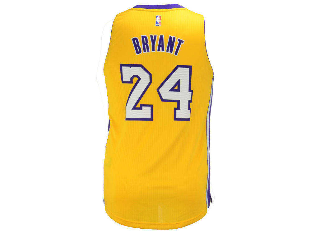 Los Angeles Lakers Kobe Bryant adidas NBA Men s Swingman Jersey ... 0bfe6afd7