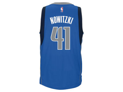 Dallas Mavericks Dirk Nowitzki adidas NBA Men's New Swingman Jersey