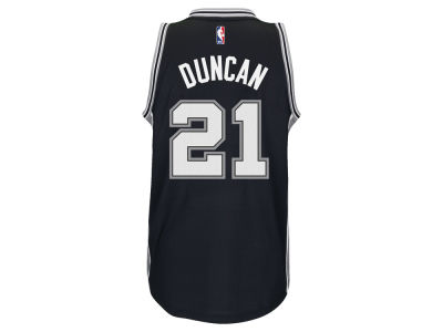 San Antonio Spurs Tim Duncan adidas NBA Men's New Swingman Jersey