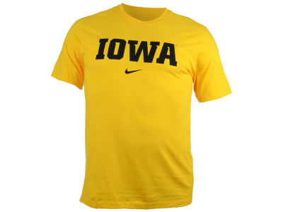 Iowa Hawkeyes Nike NCAA Wordmark Cotton T-Shirt