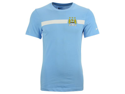 Manchester City Nike Club Soccer Mens Team Core T-Shirt