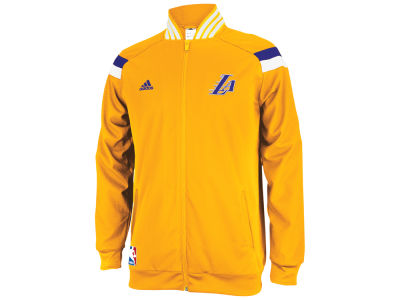 Los Angeles Lakers adidas NBA Men's On Court Jacket