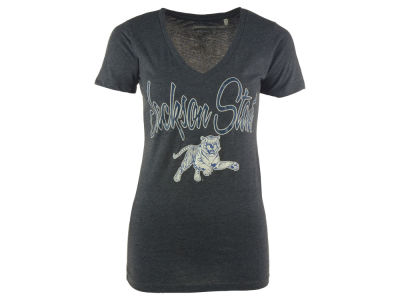 Jackson State Tigers NCAA Womens Hugo Vneck T-Shirt 2014