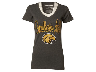 Southern Mississippi Golden Eagles NCAA Womens Hugo Vneck T-Shirt 2014