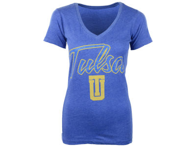 Tulsa Golden Hurricane NCAA Womens Hugo Vneck T-Shirt 2014