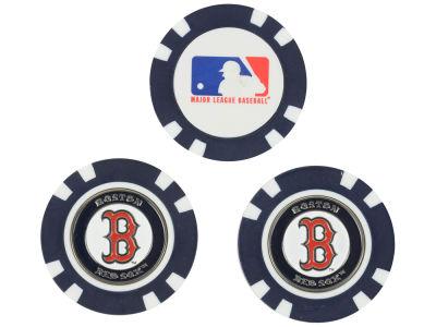 Boston Red Sox Golf Poker Chip Markers 3 Pack