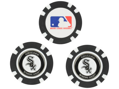 Chicago White Sox Golf Poker Chip Markers 3 Pack