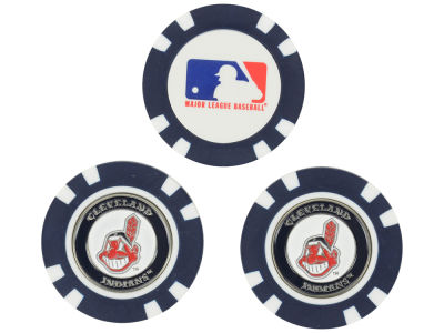 Cleveland Indians Golf Poker Chip Markers 3 Pack