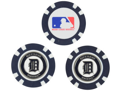 Detroit Tigers Golf Poker Chip Markers 3 Pack