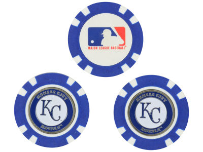 Kansas City Royals Golf Poker Chip Markers 3 Pack