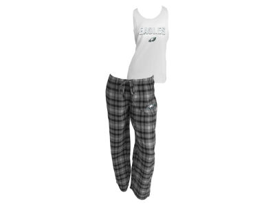 Philadelphia Eagles NFL Women's Candid Flannel Tank Sleep Set