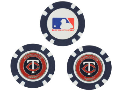 Minnesota Twins Golf Poker Chip Markers 3 Pack