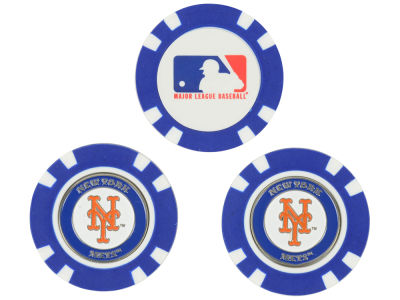 New York Mets Golf Poker Chip Markers 3 Pack