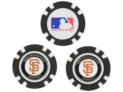 San Francisco Giants Golf Poker Chip Markers 3 Pack