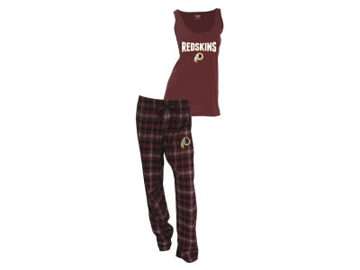 Washington Redskins NFL Women's Candid Flannel Tank Sleep Set
