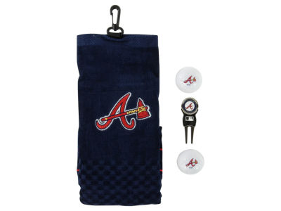 Atlanta Braves Golf Towel Gift Set