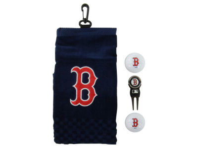 Boston Red Sox Golf Towel Gift Set