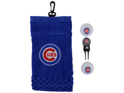 Chicago Cubs Golf Towel Gift Set