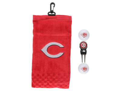 Cincinnati Reds Golf Towel Gift Set