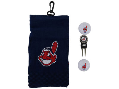 Cleveland Indians Golf Towel Gift Set