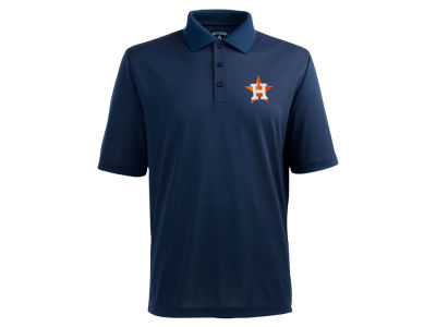 Houston Astros MLB Men's Pique Extra Lite Polo Shirt