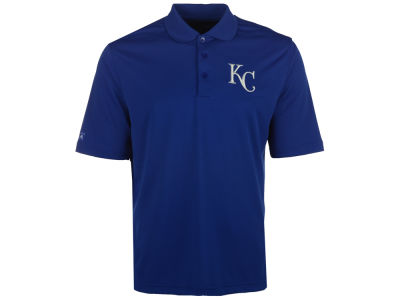 Kansas City Royals MLB Men's Pique Extra Lite Polo Shirt