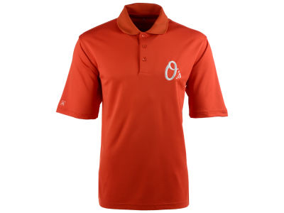 Baltimore Orioles Antigua MLB Men's Pique Extra Lite Polo Shirt