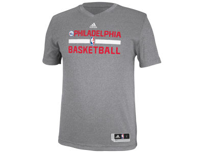 Philadelphia 76ers adidas NBA Men's Practice Graphic T-Shirt