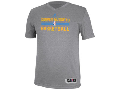 Denver Nuggets adidas NBA Men's Practice Graphic T-Shirt