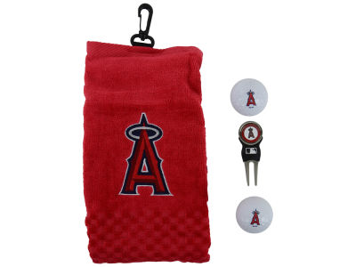 Los Angeles Angels Golf Towel Gift Set