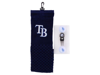 Tampa Bay Rays Golf Towel Gift Set