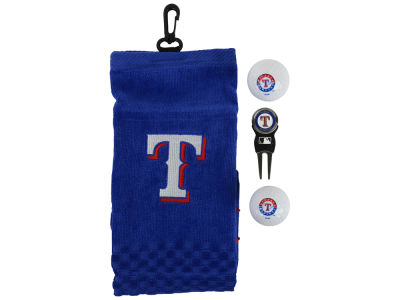 Texas Rangers Golf Towel Gift Set