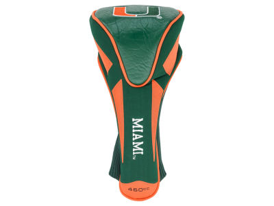 Miami Hurricanes Single Apex Jumbo Headcover