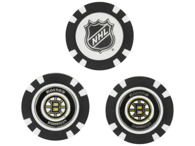 Boston Bruins Golf Poker Chip Markers 3 Pack
