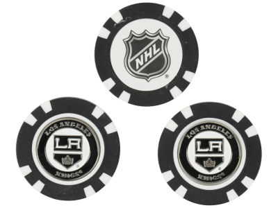 Los Angeles Kings Golf Poker Chip Markers 3 Pack
