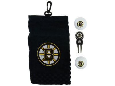 Boston Bruins Golf Towel Gift Set