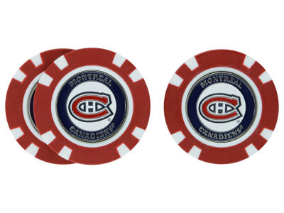 Montreal Canadiens Golf Poker Chip Markers 3 Pack