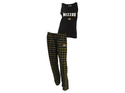 Missouri Tigers NCAA Women's Candid Flannel Tank Sleep Set