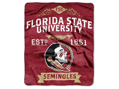 Florida State Seminoles 50x60in Plush Throw Team Spirit
