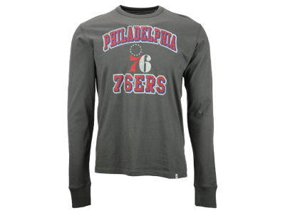 Philadelphia 76ers NBA Men's Flanker Long Sleeve T-Shirt